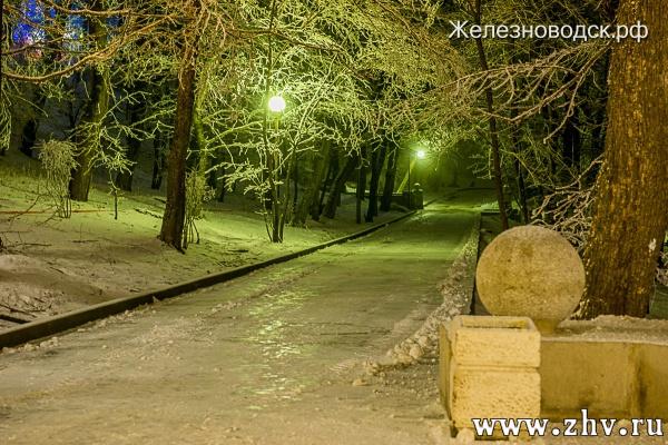 Железноводск зимой